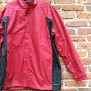 Nike Golf Storm Fit Red Black Jacket